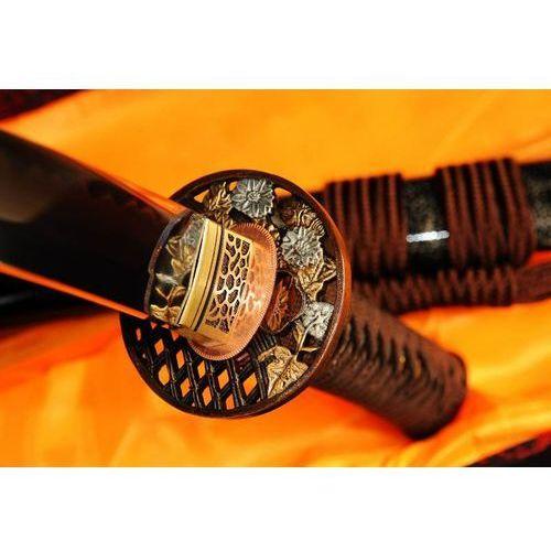 Miecz samurajski wakizashi do treningu, stal wysokowęglowa 1095, hartowana glinką, r325 marki Kuźnia mieczy samurajskich
