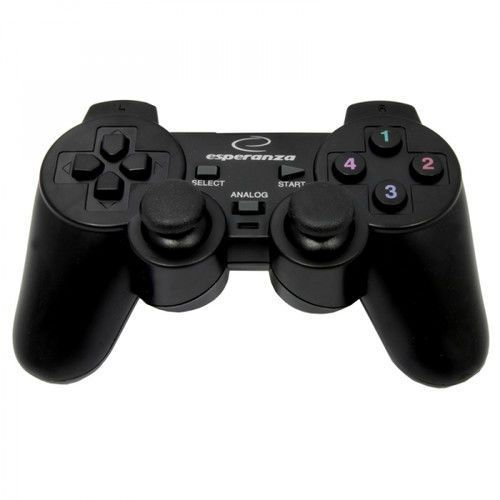 GAMEPAD CORSAIR Esperanza EG106 DO PS2 PS3 PC USB WIBRACJE, 1ACD-541C2