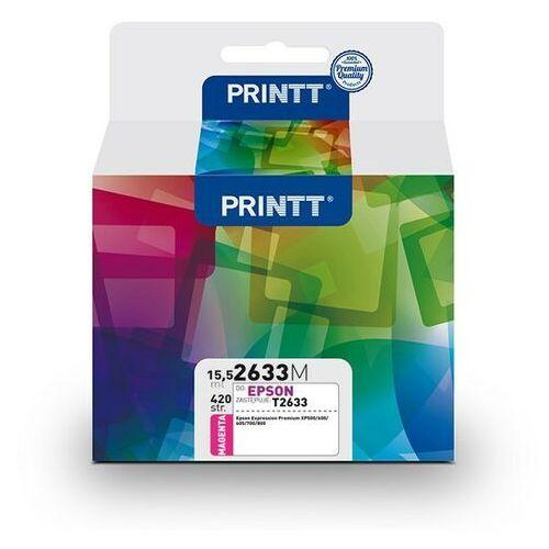Tusz printt do epson nae2633m (t2633) magenta 15,5 ml marki Ntt system