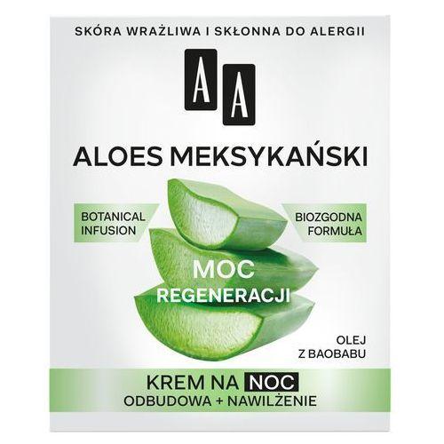 """Oceanic Aa moc roślin aloes meksykański 50+ krem na noc """"moc regeneracji"""" 50ml"""