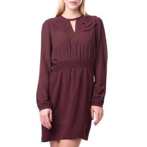 Vero Moda Sukienka Brązowy L (5713233837859)