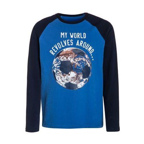GAP Bluzka z długim rękawem blue allure, kolor niebieski