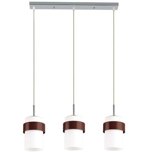 Light prestige Lampa wisząca miele lp-866/3p brązowy + darmowy transport!