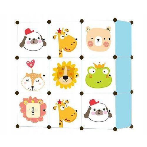 Szafka modułowa na zabawki dla dzieci (5907777420336)