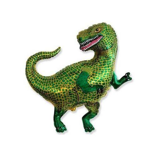 Flx Balon foliowy tyranozaur zielony 24'' 1szt (8435102302288)