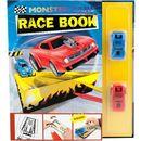 Zestaw kreatywny tor wyścigowy z dwoma samochodzikami Monster Cars - Plus-Z (4010070301958)