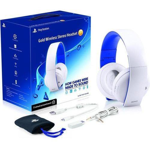 Sony PlayStation Wireless Stereo Headset 2.0 (biały) - produkt w magazynie - szybka wysyłka!