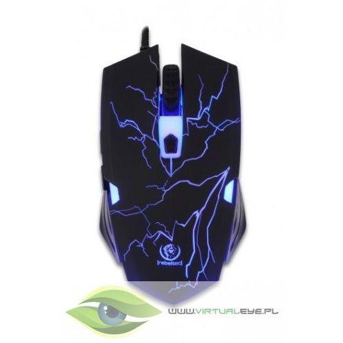 Rebeltec Gamingowa mysz optyczna USB CRUSHER DARMOWA DOSTAWA DO 400 SALONÓW !! - Dobra cena!