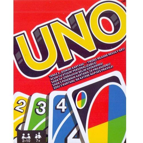 Mattel Uno gra karciana *