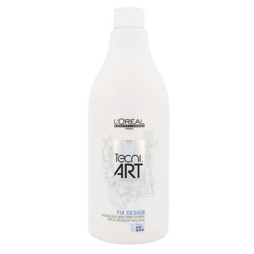 L'Oréal Professionnel Tecni Art Fix spray utrwalający napełnienie (Refill for Directional Fixing Spray, Force 5) 750 ml (3474630613676)