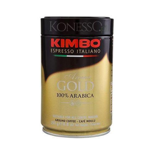 Kawa kimbo Kawa mielona kimbo aroma gold 250g - puszka - świeża paczkomaty 9,90 zł
