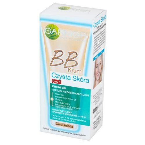 Garnier - bb cream - pure active - anti-imperfections 5-in-1 - krem bb przeciw niedoskonałościom - medium (3600541480186)