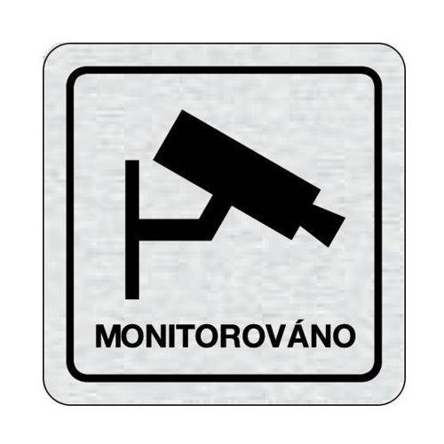 B2b partner Tabliczka na drzwi -obiekt monitorowany