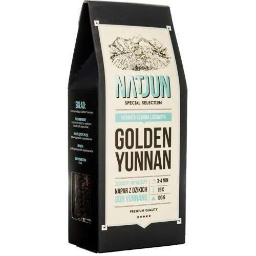 NATJUN Herbata czarna Golden Yunnan 100g