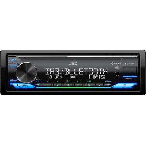 Jvc rradio samochodowe kd-x38mdbt (4975769008290)