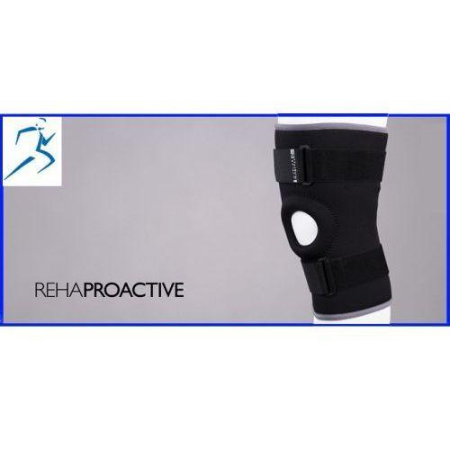 Stabilizator stawu kolanowego z otworem na rzepkę erh-35/r, seria rehaproactive marki Erhem