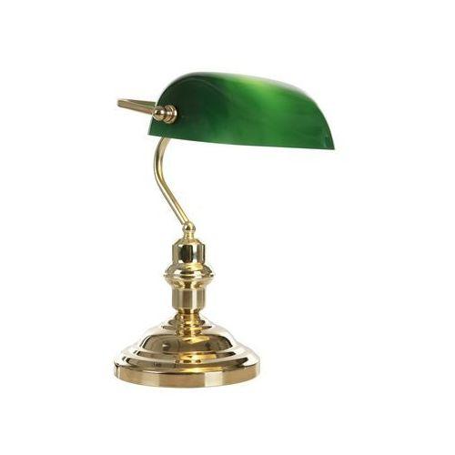 Globo 2491 – lampa stołowa antique 1xe27/60w zielona