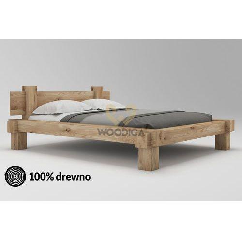 Łóżko dębowe muscari 01 160x200 marki Woodica