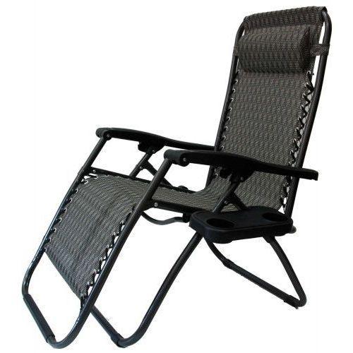 Krzeslaihokery Leżak ogrodowy zero gravity