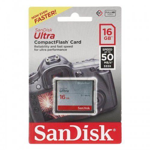 Karta SanDisk Ultra SDCFHS-016G-G46 (16GB; UDMA 7)