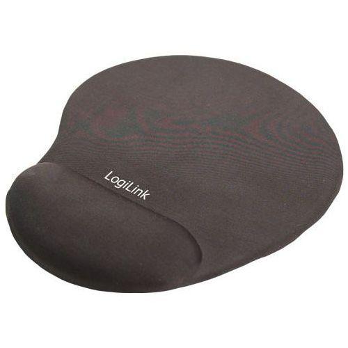 Podkładka LOGILINK GEL Wrist Rest Support Czarny (4260113569306)