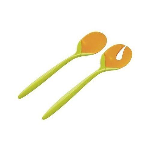 Zak!designs Zak! designs - sztućce do sałaty zielono- pomarańczowe