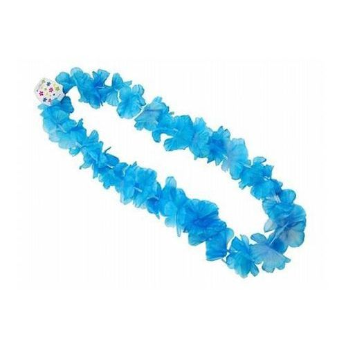 Naszyjnik hawajski - niebieski - 1 m - 1 szt. marki Ap