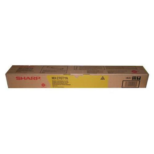 Sharp oryginalny toner MX-23GTYA, yellow, 10000s, Sharp MX-2010U, MX-2310U, TSHMX23GTYYG (6284781)