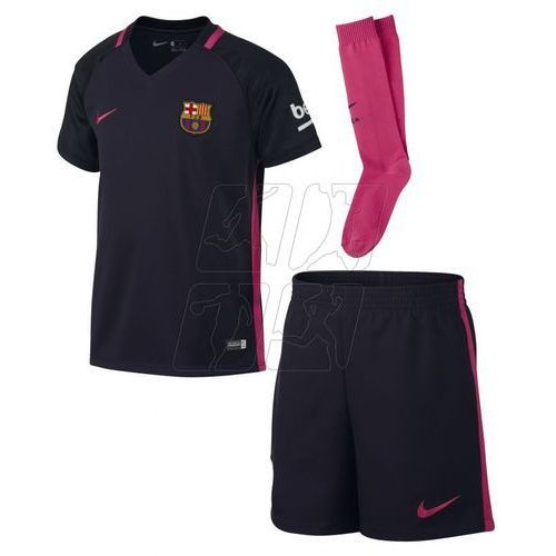 Komplet piłkarski Nike FC Barcelona Away Kids 776732-525