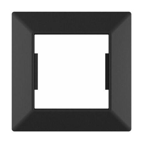 Lexman Ramka pojedyncza edg1001b czarna (5901171248442)