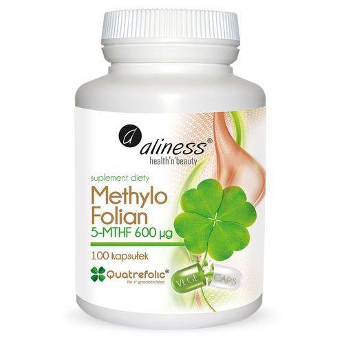 Kapsułki Methylo Folian 5-mthf 600 μg 100 kapsułek - kwas foliowy – Aliness