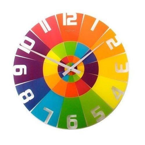 Zegar ścienny rainbow marki Nextime