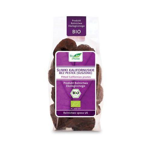 : śliwki kalifornijskie bez pestek bio - 200 g marki Bio planet