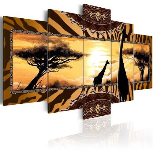 Artgeist Obraz - afrykańskie żyrafy
