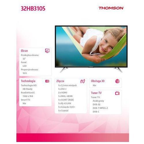 TV LED Thomson 32HB3105