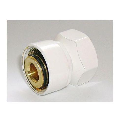 Schlosser Złączka zaciskowa do rury stalowej gw m22x1,5 x gw 1/2 6027 00002.06 biała