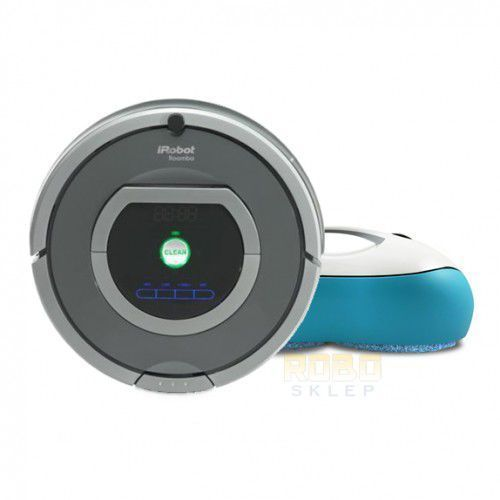 iRobot Roomba 782 + MoNeual EveryboT RS500