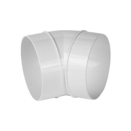 Kolanko kanału wentylacyjnego okrągłego OKRĄGŁE 45° 125 mm EQUATION (5905033316775)