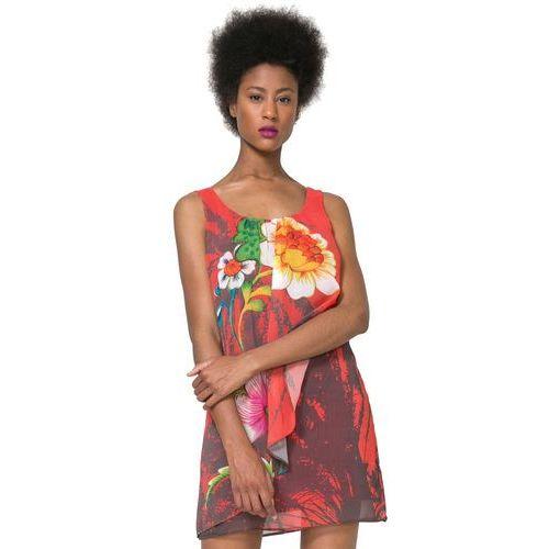 sukienka damska shayck 42 wielokolorowy, Desigual, 34-44
