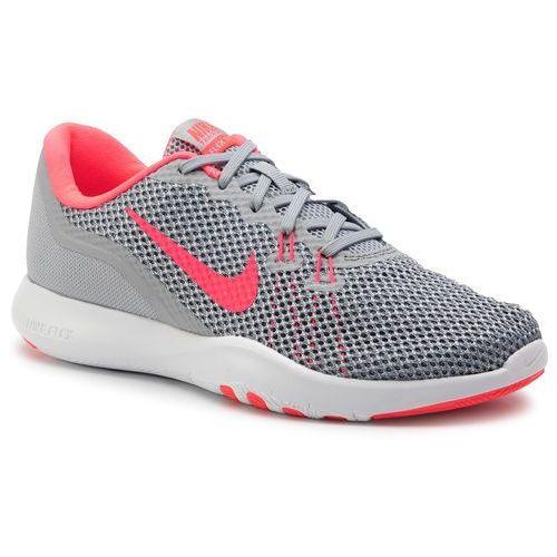 Nike Buty - flex trainer 7 898479 006 wolf grey/racer pink/stealth