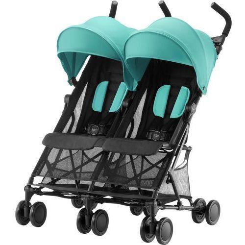 wózek dla rodzeństwa holiday double, aqua green marki Britax römer