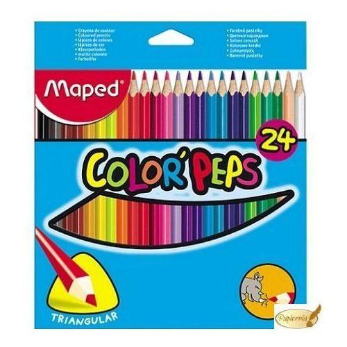 Maped Kredki jumco colorpeps early age 24 kolory