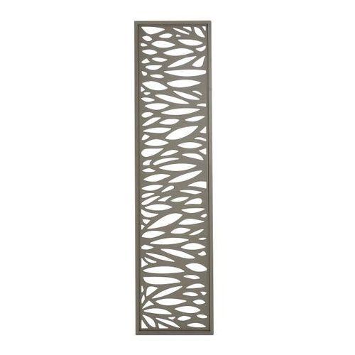 Blooma Moduł dekoracyjny neva aluminiowy 44 x 179 cm taupe