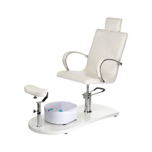 Fotel do pedicure z masażerem stóp br-2308, marki Beauty system