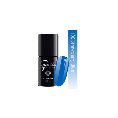 Semilac lakier hybrydowy 188 Strawberry Blue, 7ml