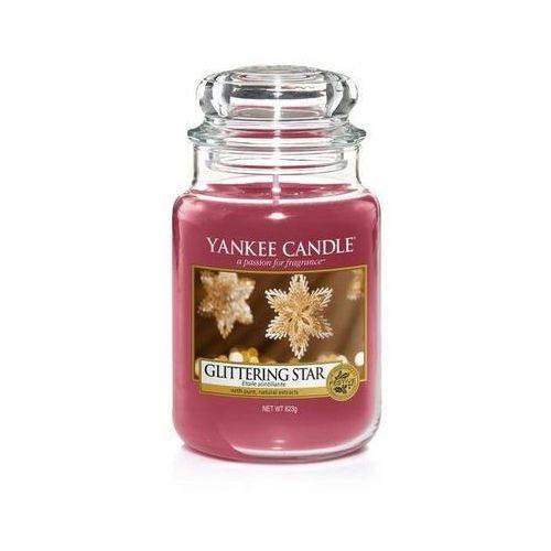 Yankee Candle Glittering Star 623g DUŻA ŚWIECA SZYBKA WYSYŁKA infolinia: 690-80-80-88 (5038581051048)