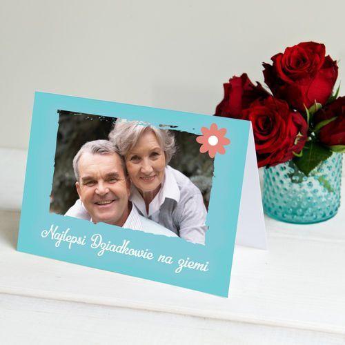Najlepsi dziadkowie na ziemi - kartka z życzeniami - kartka z życzeniami marki Mygiftdna