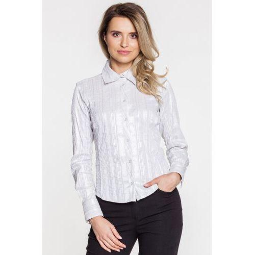 Koszula z połyskującą nitką - marki Duet woman