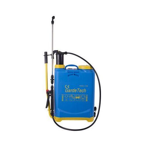Gardetech Opryskiwacz ciśnieniowy 16l z lancą teleskopową do oprysków chemicznych. (5900789111629)