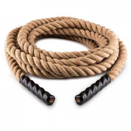 Power rope skakanka 9m Ø 3,8 cm włókno konopne marki Capital sports